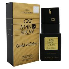 Jacques Bogart <b>One Man Show Gold</b> Edition EDT for Men (100ml ...