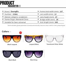 <b>GUANGDU</b> Flat Top Oversized Sun Glasses Women <b>Sexy</b> Ladies ...