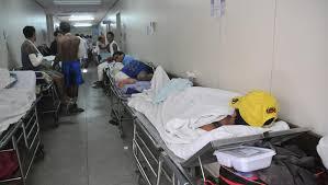 Resultado de imagem para hospital tarcisio maia lotado fotos