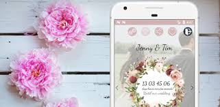 Wedding Countdown Boho <b>Vintage Flower</b> Widget - Apps on Google ...