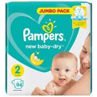 <b>Pampers подгузники New Baby Dry</b> 2 (4-8 кг) 94 шт. — Подгузники ...