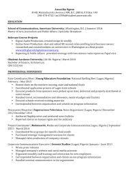 resume anwulika ngene resume