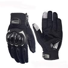 Motocross Gloves <b>Touch Screen</b> Anticollision Anti-slip Full Finger ...