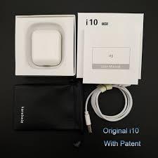 i10 Tws <b>Wireless Bluetooth 5.0 Earbuds</b> Earphone Auto Turn On/off ...