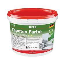 <b>Краска в/д</b> Pufas для <b>обоев</b> Tapeten Farbe oснова А (2,5 л) купить ...
