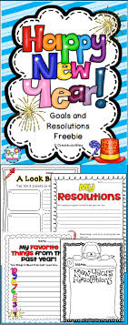 17 best images about new year 1st grade teaching new year s resolutions and goals plus a creative writing prompt