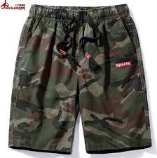 Cargo Shorts Men Cool Camouflage Summer <b>Hot Sale Cotton</b> ...