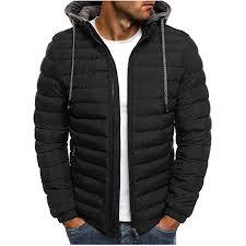 <b>puimentiua</b> Men's Lightweight Packable Hooded Down Jacket ...