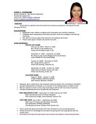 examples resumes sample nurse newsound co sample resume for fresh nurse resume clinical experience nurse resume service for nurses resume sample for nurses abroad resume sample