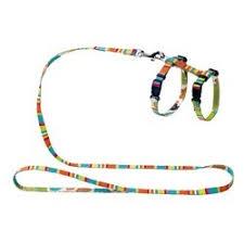 <b>Hunter Smart шлейка</b> для кошек и собак Stripes нейлон ...
