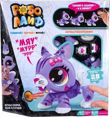 <b>Интерактивная игрушка 1TOY</b> РобоЛайф Котенок, Т16234 ...