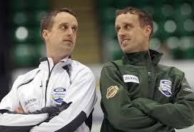 identical twins david and dennis bohn have been teammates all identical twins dennis assiniboine memorial and david bohn granite curling club