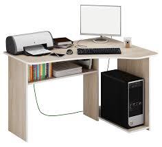 <b>Угловой компьютерный стол</b> с полками Триан-1 купить в Москве в ...