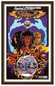 <b>Thin Lizzy Vagabonds</b> Of The Western World Poster print (With ...