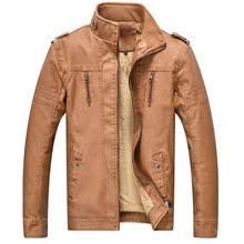 TIEPUS зимняя <b>куртка мужская</b> модная Флисовая теплая кожаная ...