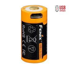 <b>Аккумулятор 16340 Fenix</b> ARB-L16 <b>700U</b> (<b>700mAh</b>): купить ...