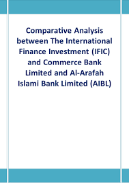 comparative analysis between the international finance investment if