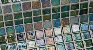 <b>Стеклянная мозаика Ezarri Iris</b> Green Pearl 31,3х49,5 см купить за ...