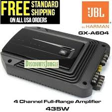 <b>JBL GX-A604</b> AMPLIFER 4 CHANNEL 435W MAX POWER high ...