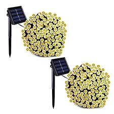 nieneng led solar energy string lights powered outdoor waterproof fairy light christmas wedding party decoration icd90079