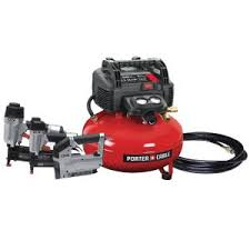 Porter-Cable 6 Gal. 150 PSI Portable Electric <b>Air</b> Compressor, 16 ...