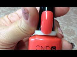 cnd shellac open road powder my nose гелевое покрытие 90544 7 3 мл