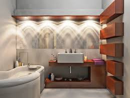 fabulous vanity and wide sink under bright bathroom lighting ideas near white bathtub amazing amazing bathroom lighting ideas