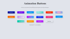 <b>Candy Color</b> Button Animation