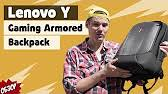 Обзор <b>рюкзака</b> для гика - <b>Lenovo</b> Y Gaming Armored <b>Backpack</b> ...