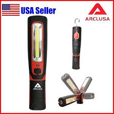 Arclusa Handheld 3W <b>COB LED</b> Rechargeable <b>Magnetic Work</b> Light ...
