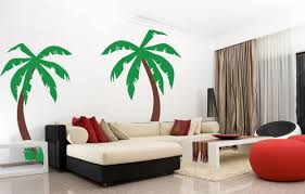 palm tree wall stickers:  palm trees