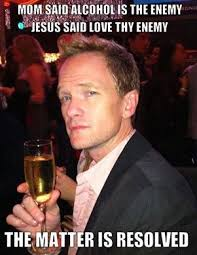 Funny Memes - Love thy enemy - Funny Memes via Relatably.com