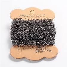 ARRICRAFT 10m(32.80 feet) Black Color Iron <b>Twist</b> Chains for ...