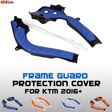 <b>Motorcycle X Grip</b> Frame Guard Protection Cover For Husqvarna TE ...