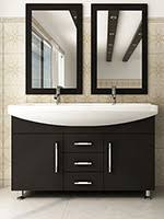 55 inch double sink bathroom vanity: quot celine double sink vanity espresso