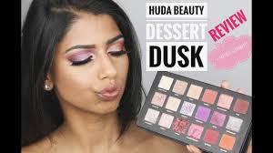 <b>HUDA Beauty DESERT DUSK</b> Palette HONEST Review - YouTube