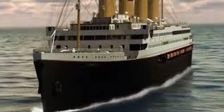 Inside the Titanic <b>II</b>, a close replica of the 1912 Titanic cruise liner ...