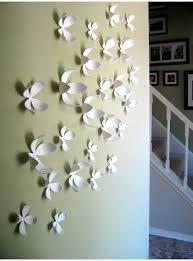 umbra wallflower wall decor white set: wallflower umbra white set  fiori d decorazione da parete