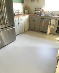 Painting Linoleum Kitchen Floor How To Paint Old Linoleum Kitchen Floors Pull Up The Floor And