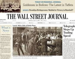 「The Wall Street Journal, WSJ」の画像検索結果