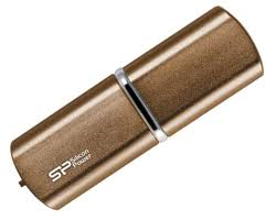 Pendrive <b>silicon power luxmini 720</b>, gold | Logotrade