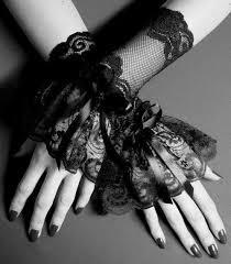 Картинка с тегом «gothic, <b>black</b>, and gloves» | <b>Кружевные</b> ...