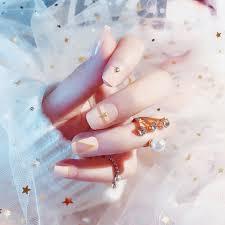 <b>24pcs acrylic</b> french <b>fake</b> finger nails full cover <b>fake false</b> nail art tips ...
