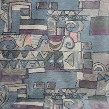 Block and Swirl Upholstery <b>Velvet</b> | Fabric UK