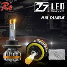Z7 <b>H13</b> 9008 <b>60W</b> 7000LM LED Headlight <b>Super Slim</b> Kits ...