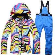 <b>Winter Ski Jacket</b> +<b>Pant</b> Windproof Waterproof Snowboard Suits ...