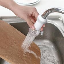 Universal <b>Faucet</b> Anti-<b>Splash</b> Head Kitchen <b>Tap Water Extender</b> ...