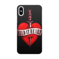"""Чехол для iPhone X/XS, объёмная печать """"Дикие сердцем ..."""
