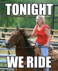 Community Post: The Very Best Of The Grandma On Horse Meme ... via Relatably.com
