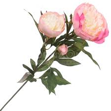 <b>Цветок искусственный декоративный</b> Пион нежно-<b>розовый</b> 16 ...